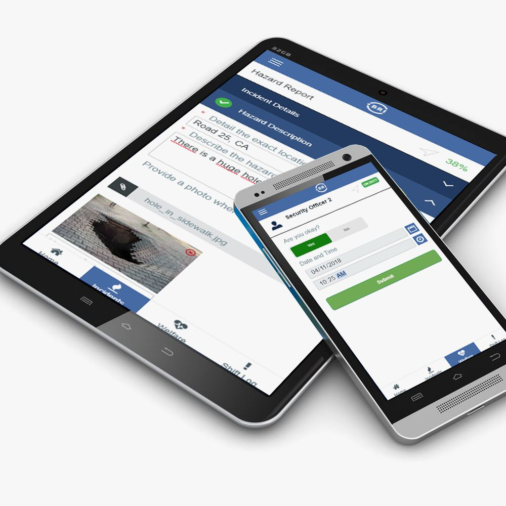 Solution BRI Mobile App for Field Services Management