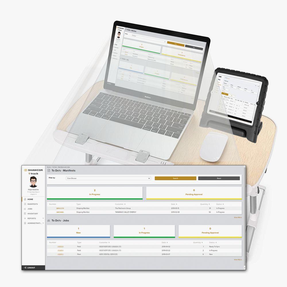 Results Shawcor custom platform for oilfield inventory management